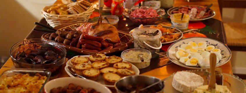 Cena natalizia tipica italiana