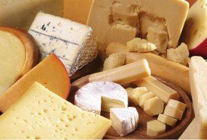 Record esportazione formaggi italiani